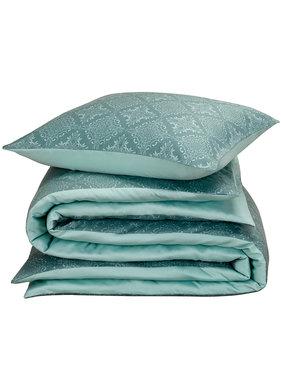 De Witte Lietaer Duvet cover Cotton Satin Rosemary Goblin Blue 140 x 200/220 cm