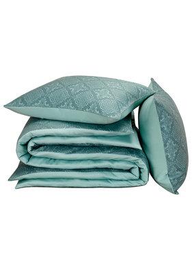 De Witte Lietaer Duvet cover Cotton Satin Rosemary Goblin Blue 240 x 220 cm