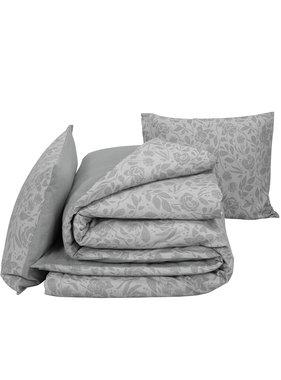 De Witte Lietaer Duvet cover Cotton Flannel Lea Gray 260 x 240 cm