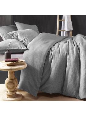 De Witte Lietaer Duvet cover Cotton Flannel Tarbot Natural Grey 260 x 240 cm