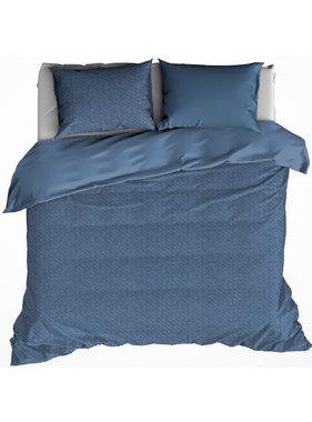 De Witte Lietaer Duvet cover TARBOT 240x220 + 60x70 (2) Stellar Blue 100% cotton, flannel