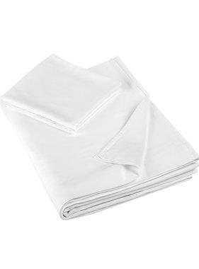 De Witte Lietaer Lakenset éénpersoon OLIVIA (Smart Collection) 180x280+60x70 White 100% katoen, satijn