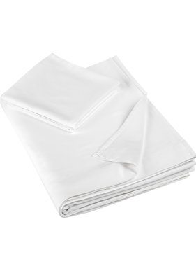 De Witte Lietaer Single sheet set OLIVIA (Smart Collection) 180x280+60x70 White 100% cotton, satin