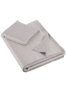 De Witte Lietaer Single sheet set OLIVIA (Smart Collection) 180x280+60x70 Dove 100% cotton, satin