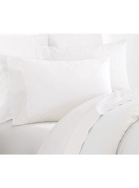 De Witte Lietaer Sheet set double Willow 260x275 + 60x70 (2) White 100% cotton, flannel