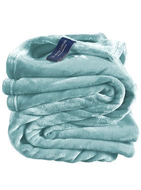 De Witte Lietaer Fleece throw Cozy 150x200 mineral 100% polyester