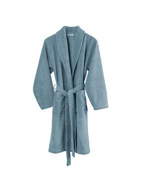 De Witte Lietaer Bathrobe Felicia -X Large - Ladies - Cotton Polyester