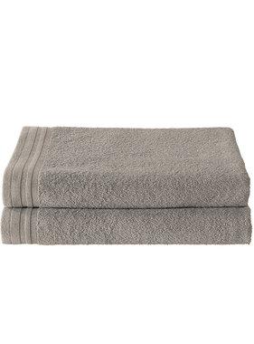 De Witte Lietaer Shower towel Imagine Taupe 70 x 140 cm - 2 pcs.