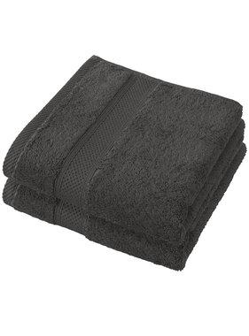 De Witte Lietaer Towels Stephanie Ebony 50 x 100 cm - 2 pcs.