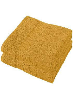 De Witte Lietaer Handdoeken Stephanie Golden Yellow 50 x 100 cm - 2 st.