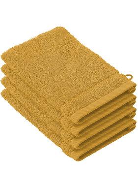 De Witte Lietaer Washcloths Stephanie Golden Yellow 15 x 21 cm - 4 pcs.