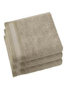 De Witte Lietaer Towels Contessa Taupe 50 x 100 cm - 3 pcs.