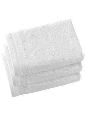 De Witte Lietaer Guest towels Contessa White 40 x 60 cm - 3 pcs.