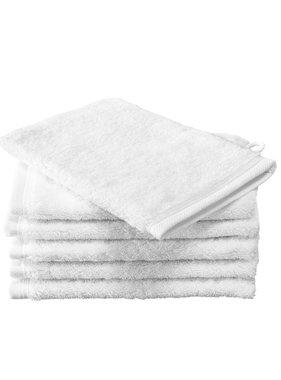 De Witte Lietaer Washcloths Contessa White 16 x 21 cm - 6 pcs.