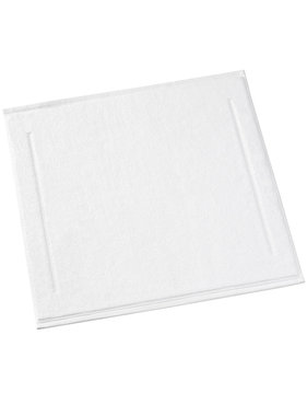 De Witte Lietaer Bath mat Contessa White 60 x 60 cm