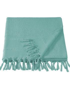De Witte Lietaer Hammam beach towel with tassels Fjara canton 100x180
