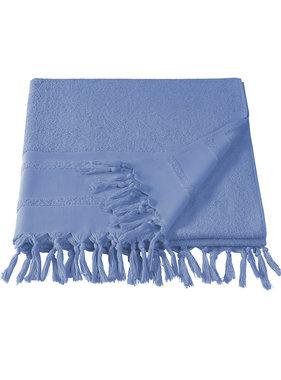 De Witte Lietaer Hammam beach towel with fringes Fjara 100 x 180 cm