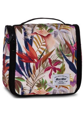 Bestway Toilet bag Flowers 24 x 22 x 9 cm