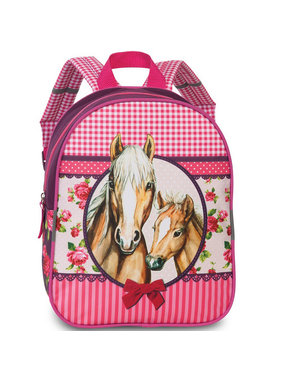 Fabrizio Toddler backpack Horses 29 x 23 cm