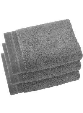 De Witte Lietaer Guest towels Contessa Steel Gray 40 x 60 cm - 3 pcs.