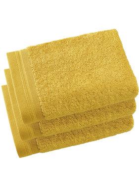De Witte Lietaer Guest towels Contessa Ocher 40 x 60 cm - 3 pcs.