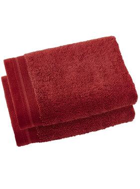 De Witte Lietaer Kitchen towels Excellence Dark Red 40 x 60 cm - 2 pcs.