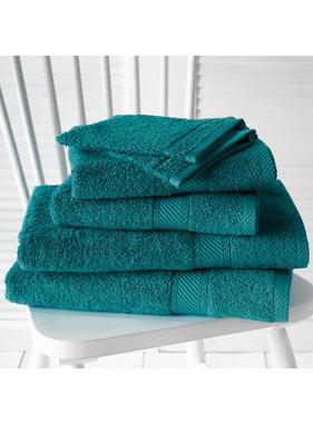 De Witte Lietaer Promopack Helene Lake Green - Bath textiles set of 6 pieces