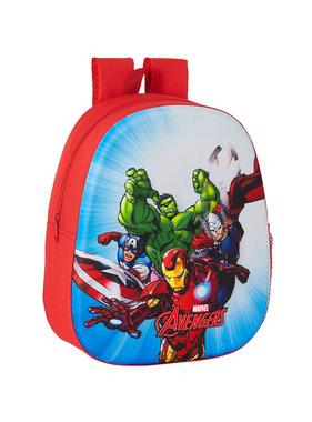 Marvel Avengers Rugzak 3D Ready for Battle 33 x 27 cm