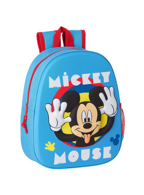 Disney Mickey Mouse Backpack 3D Funny 33 x 27 cm