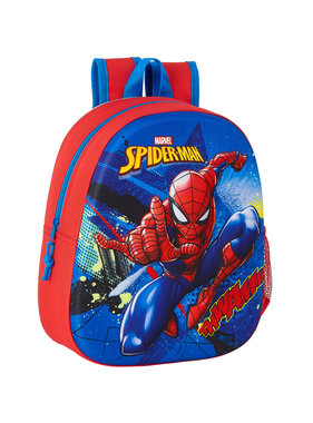 Spiderman Backpack 3D Great Power 33 x 27 cm