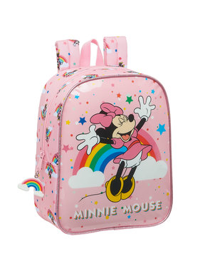 Disney Minnie Mouse Toddler backpack Rainbow 27 x 22 cm