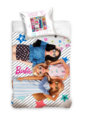 Barbie Dekbedovertrek Girls 140 x 200