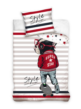 Style Dekbedovertrek Super Star 140 x 200