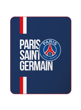 Paris Saint Germain Fleece deken 110 x 140 cm