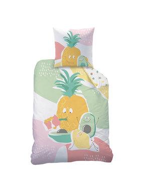 Matt & Rose Dekbedovertrek Tutti Frutti 140 x 200 Katoen
