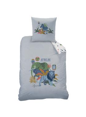 Matt & Rose Duvet cover African Spirit 140 x 200 Cotton