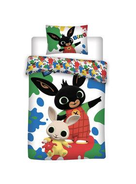 Bing Bunny Dekbedovertrek 140 x 200 cm 70 x 90 cm katoen