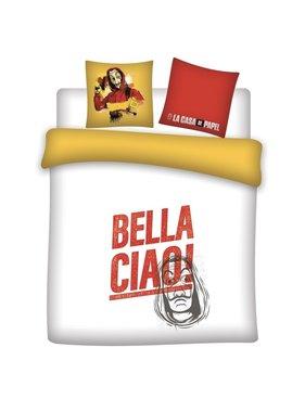 La Casa de Papel Dekbedovertrek Bella Ciao! 240 x 220 Polyester