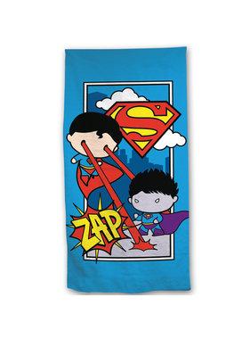 Superman Strandlaken Zap 70 x 140 Katoen