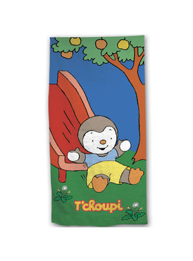 Tchoupi Beach towel Slide 70 x 140 Cotton
