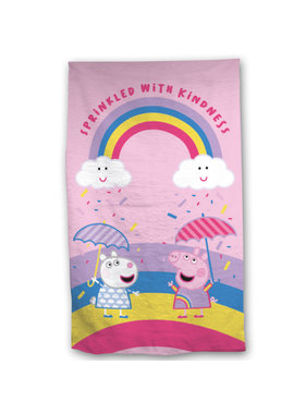 Peppa Pig Beach towel Sprinkled 70 x 140 Cotton