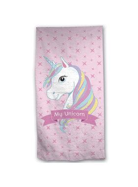 Unicorn Beach towel 70 x 140 Cotton