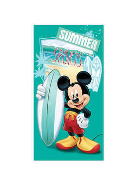 Disney Mickey Mouse Beach towel Summer Sports 70 x 140 Polyester