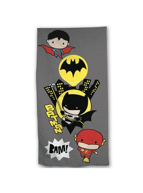 Batman 2-in-1 Strandlaken + Gymbag 70 x 140  + 43 x 32