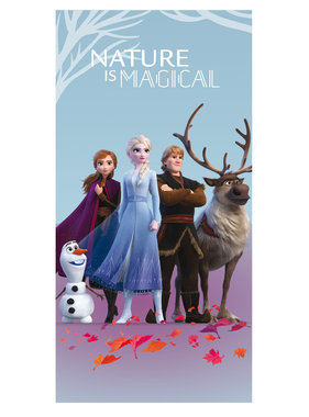 Disney Frozen Beach towel Nature is Magical 70 x 140 Polyester
