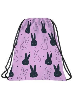 BackUP Gymbag Rabbits - 45 x 35 cm