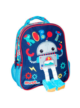 Must Backpack Robot 31 x 27 cm
