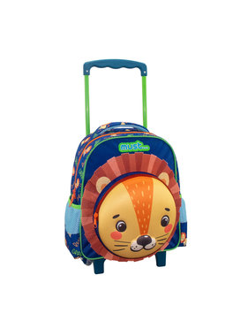 Must Trolley Backpack Lion 31 x 27 cm