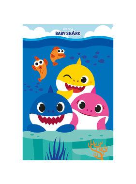 Baby Shark Fleece blanket Family 100 x 150 cm