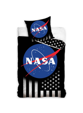 NASA Dekbedovertrek Stars & Stripes 140 x 200